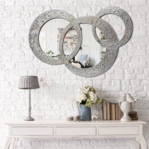 Espejo de pared decorativo CIRCLES