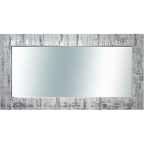 Espejo de pared decorativo plata espejos de pared for Espejo decorativo pared